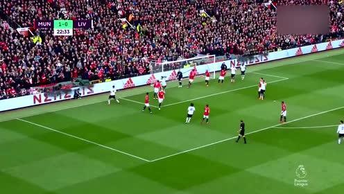 2018年03月10日 英超联赛 第30轮 曼联2-1利物浦 全场集锦|战报