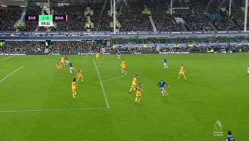 2018年03月11日 英超联赛  埃弗顿2-0布莱顿 全场集锦|战报