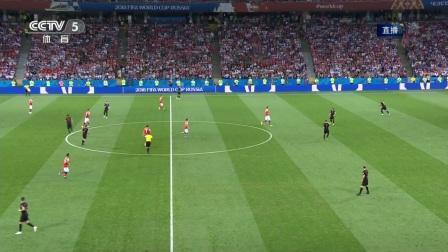 2018年07月08日 世界杯1/4决赛 俄罗斯vs克罗地亚 全场录像高清回放