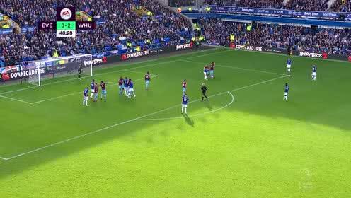2018年09月17日 英超联赛 埃弗顿vs西汉姆 全场录像高清回放
